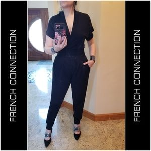 STYLISH V-neck Jumpsuit by French Connection